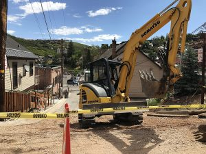 Park City continues repairs after torrent of water hits Main Street