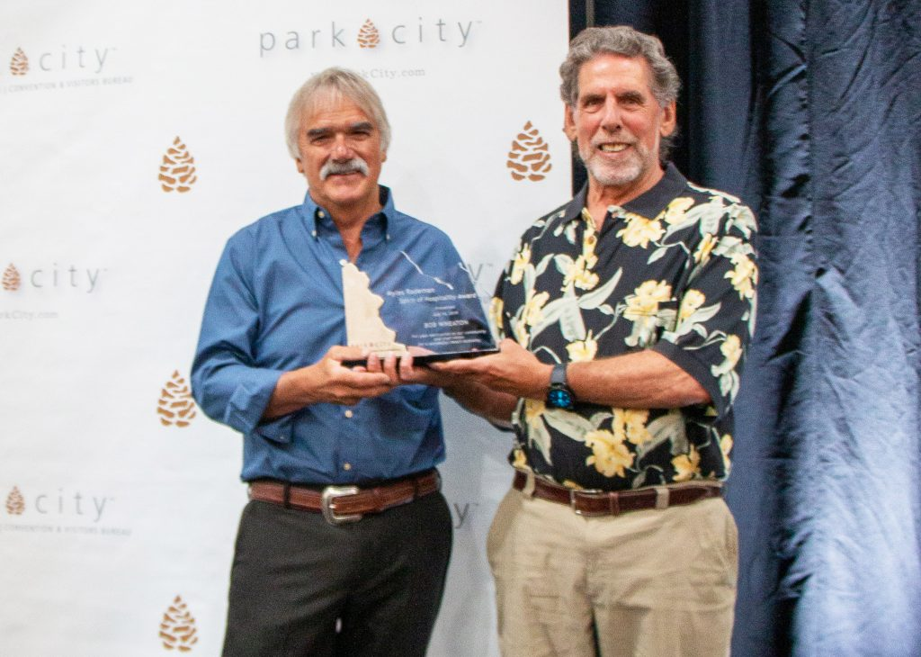 Bob Wheaton, former Deer Valley leader, honored with Spirit of Hospitality Award