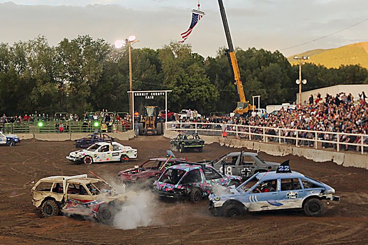 Summit County Councilor Wants Action After Demolition Derby Cars Display What He Deems White Nationalist Symbols Parkrecord Com