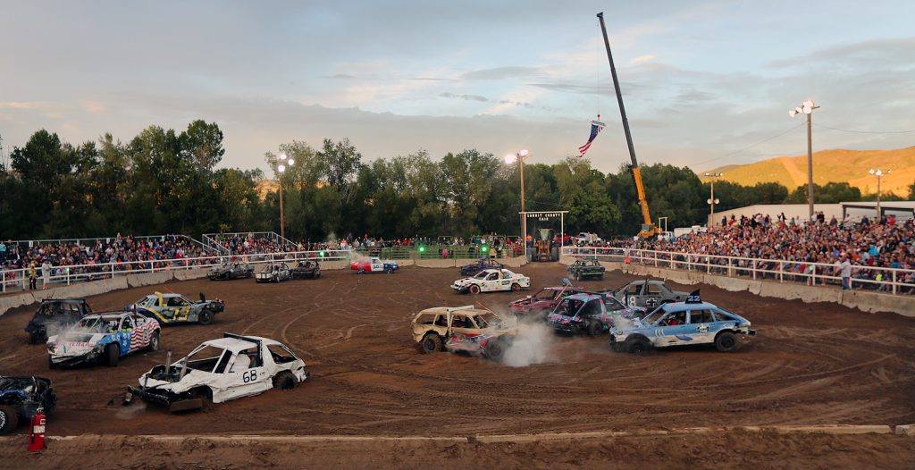 Meet The Husband And Wife Team Who Saved The Summit County Demolition Derby Parkrecord Com
